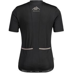 Maloja MannstreuM. 1/2 Short Sleeve Bike Jersey Men, negro